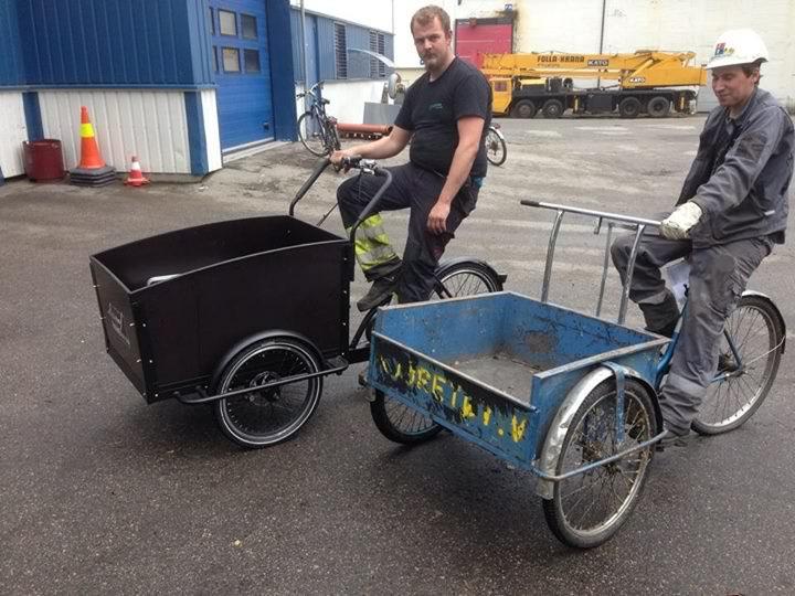 Cargobike - Elektrisk