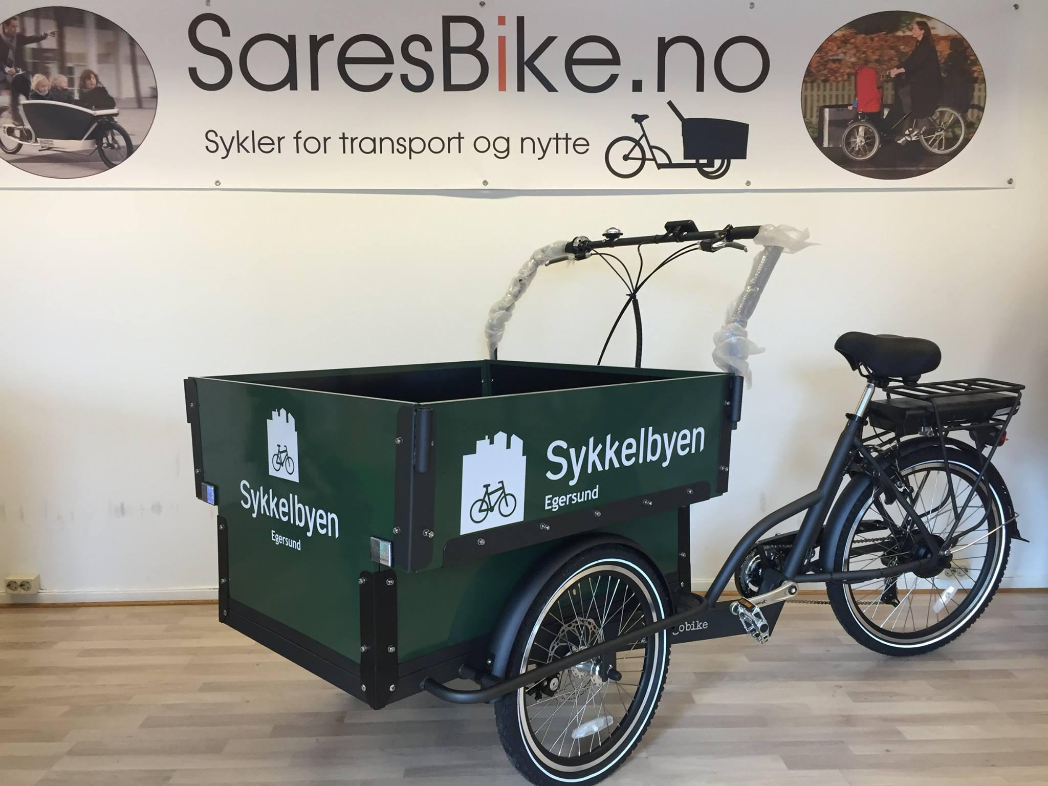 Cargobike 6 seter - Elektrisk